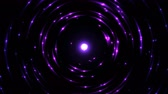movimentar se : Colorful Circular Particle Emitting Sphere Animation - Seamless Loop Violet Vídeos