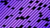 Colorful Diagonal LED Flood Lights Particle Animation - Loop Violet Stock Footage