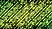 Colorful Diagonal Beams Pattern and Light Animation - Loop Yellow Green Stock Footage