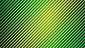 Colorful Diagonal Lines Light Effect Animation - Loop Green Stock Footage