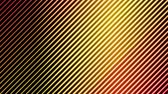 Colorful Diagonal Lines Light Effect Animation - Loop Orange Stock Footage