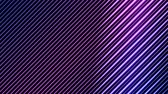 párhuzamos : Colorful Diagonal Lines Light Effect Animation - Loop Purple