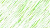 Colorful Diagonal Strokes Background Animation - Loop Green
