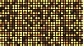 основной момент : Disco light effect bright round sequins. Flashing light wall background. Spangle glitter.
