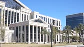 pilíř : The  Duval Courthouse in downtown Jacksonville Florida which began construction in 2009 and finished in 2012