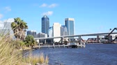 aziz : JACKSONVILLE, FLORIDA – January 19: Downtown view of Jacksonville along the  St. Johns River, January 19, 2014 in Jacksonville, Florida. The St. Johns River is the longest river in the U.S. state of Florida.