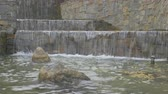 Brown shades waterfall 4K Stock Footage