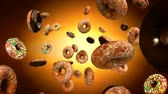 fresh : Donuts Stock Footage