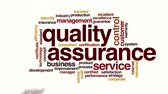 typografia : Quality assurance animated word cloud
