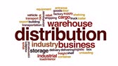 word cloud business : Distribution animated word cloud.