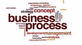 inovação : Business process animated word cloud. Vídeos