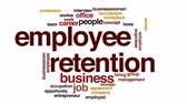 opportunities : Employee retention animated word cloud.