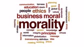 globalizace : Morality animated word cloud, text design animation.