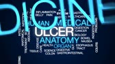 vřed : Ulcer animated word cloud, text design animation. Dostupné videozáznamy