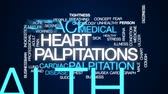 vřed : Heart palpitations animated word cloud, text design animation. Dostupné videozáznamy
