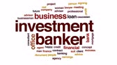 poradce : Investment banker animated word cloud, text design animation. Dostupné videozáznamy