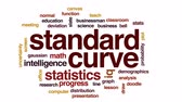 ardósia : Standard curve animated word cloud, text design animation.