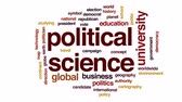democrat : Political science animated word cloud, text design animation. Stock Footage