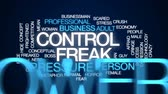 rozdrtit : Control freak animated word cloud, text design animation. Dostupné videozáznamy