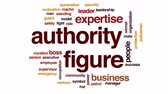 policeman : Authority figure animated word cloud, text design animation. Stock Footage