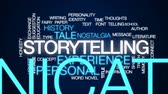 honesto : Storytelling animated word cloud, text design animation.