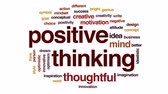 better : Positive thinking animated word cloud, text design animation.
