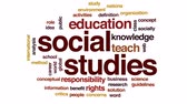 ответственность : Social studies animated word cloud, text design animation.