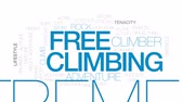 aperto : Free climbing animated word cloud, text design animation. Kinetic typography.