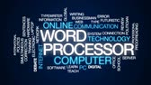 alkalmaz : Word processor animated word cloud, text design animation.