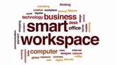 pracoviště : Smart workspace animated word cloud, text design animation. Dostupné videozáznamy