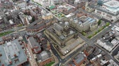 town hall : Leeds Town Hall Aerial 4k Footage