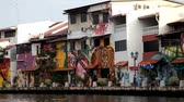 1st September 2012, Malacca Malaysia front boat view during a cruise