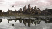 Sunset at Angkor Wat temple in Cambodia 20 November 2012   Stock Footage