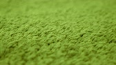 törülköző : Green carpet fabric pattern macro texture background backdrop.