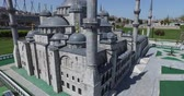 レプリカ : ISTANBUL, TURKEY - 4 APRIL, 2016: Miniaturk in Istanbul, Turkey. Miniature copies of the Ancient World Architecture 動画素材