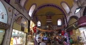 ISTANBUL, TURKEY - JUNE 6, 2016: The central and largest city in the Grand Bazaar, with many shops and workshops: 6 JUNE, 2016 in Istanbul, Turkey