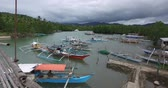 pobre : El NIDO, PHILIPPINES - JANUARY. 1: The port and the boats in the fishing village of El Nido JANUARY. 1, 2016 in El Nido Philippines.