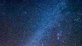 perseids : Geminid Meteor Shower Real time-lapse video of night sky Galaxy Planet Milky way