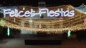 altın : festive lights of luminous decorations from the nightlife of the Spanish provincial city