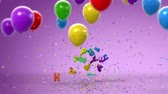 Happy Birthday, funny 3d animation. Full HD See more animations with presents in my portfolio