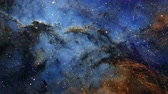 anahtar deliği : Flying into the cosmic nebulae of the infinite universe 4 Stok Video