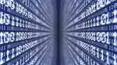 4K Data Digital Binary Code Stock Footage