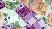 despesas : 4K Banknote Field Stock Footage