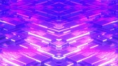 futurism : 4k Looped Cybernetic Neon Background