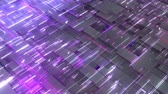 4k Looped Cybernetic Neon Background