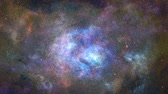 4K Awesome Deep Space Immersion Stock Footage