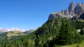 sella : Sella pass in Dolomites, italian Alps