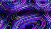 luxus : 4K Abstract Neon wirbelt. Seamless Looping Hintergrund. Stock Footage