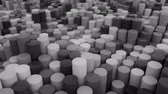 rury : 4K Abstract Cylinders. Seamless Looping