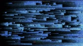 editar : 4K Abstract Glitch LED Background. Seamless Loop. Stock Footage